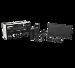 Shure SM57 X2U Instrument Microphone w/ USB Adapter (SM57-X2U) | Northeast Music Center Inc.