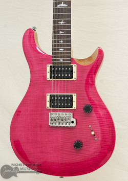PRS SE Custom 24 - Bonnie Pink (s/n: 0326)   Northeast Music Center Inc.