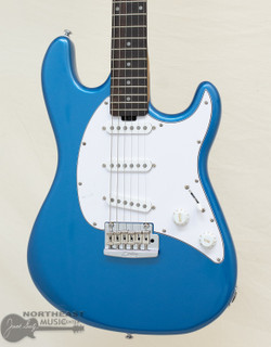 Sterling by Music-Man Cutlass CT50 SSS - Toluca Lake Blue | Northeast Music Center Inc.