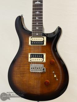 PRS SE Custom 24 - Black Gold Burst (6389) | Northeast Music Center Inc.