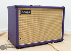 Mesa Boogie 1x12 WideBody Closed Back Cabinet - Purple Bronco, Cream & Tan Grille | Northeast Music Center Inc.