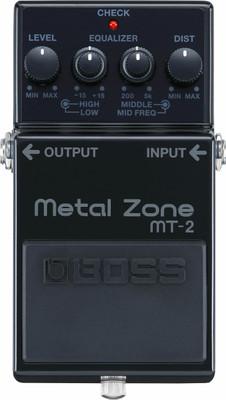 BOSS Metal Zone 30th Anniversary Pedal (MT-2-3A) | Northeast Music Center Inc.