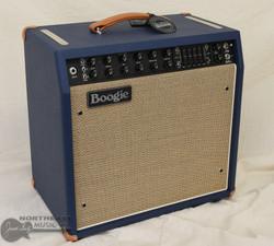 Mesa Boogie Mark V: 35 All Tube Guitar Amplifier - Blue Bronco, Tan Jute Grille | Northeast Music Center Inc.