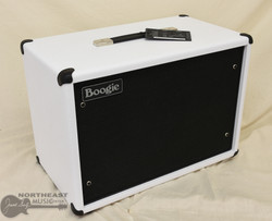 Mesa Boogie 1x12 Widebody Closed Back Cabinet - Hot White Bronco, Black Jute Grille | Northeast Music Center Inc.