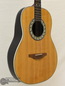 Ovation Folklore Model 1114-4 Acoustic Guitar (Used)   Northeast Music Center Inc.