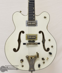 1967 Gretsch 6137 White Falcon Stereo Doublecut (Used) | Northeast Music Center Inc.