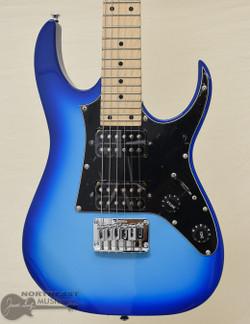Ibanez GRGM21M Mikro - Blue Burst | Northeast Music Center Inc.