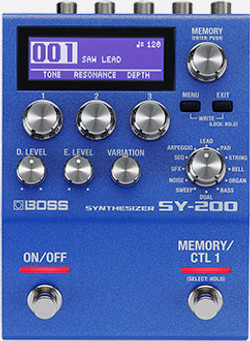 BOSS SY-200 Synthesizer Pedal | Northeast Music Center Inc.