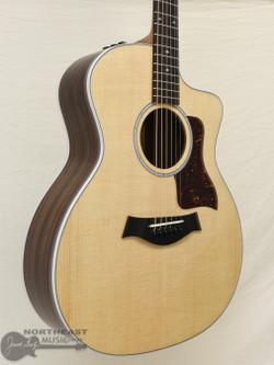 Taylor 214ce DLX Acoustic/Electric Guitar (1532) | Northeast Music Center Inc.