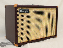 Mesa Boogie 1x12 Widebody Closed Back Cabinet - Wine Taurus, Wicker Grille (0.112WC.V26.G07.P03.H01.C02.V30+)   Northeast Music Center Inc.