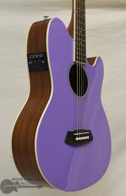Ibanez Talman TCY10 Acoustic/Electric Guitar - Lavender High Gloss | Northeast Music Center Inc.