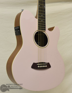 Ibanez Talman TCY10 Acoustic/Electric Guitar - Shell Pink High Gloss | Northeast Music Center Inc.