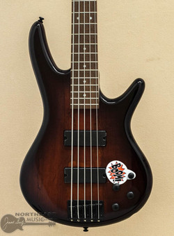 Ibanez GSR205SM 5-String Electric Bass - Charcoal Brown Burst (GSR205SM-CNB) | Northeast Music Center Inc.