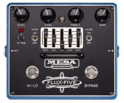 Mesa Boogie Flux Five Dual-Mode Overdrive Pedal with 5-Band EQ