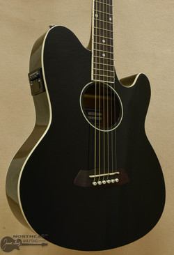 Ibanez TCY10 Talman Acoustic Electric Guitar in Black