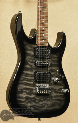 Ibanez GRX70QA Gio - Transparent Black Burst | Gio Electric Guitar - Northeast Music Center inc.