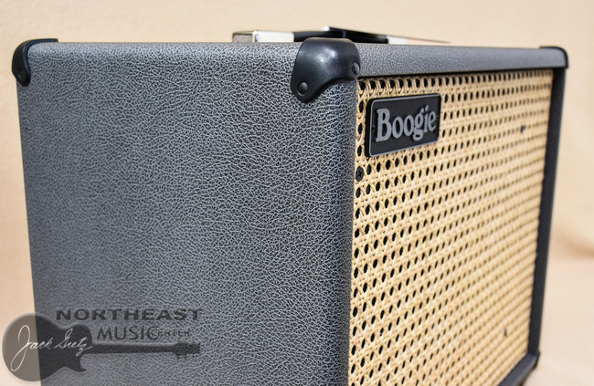 Mesa Boogie 1x12 Thiele Guitar Cab in Brittish Slate Bronco with Wicker Grille (0.112T.V07.G07.XXX.H01.C01.C90+)