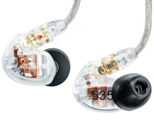 Shure SE535 Sound Isolating Earphones - Clear | Northeast Music Center