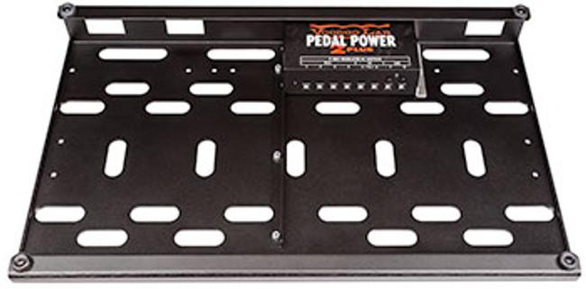 Voodoo Lab Dingbat Medium Pedal Board With 2 Plus Power Package