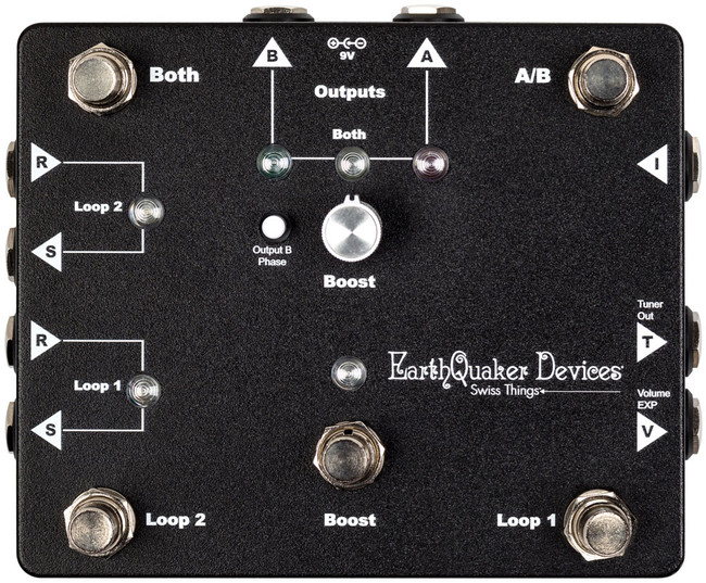 Earthquaker Devices Swiss Things Pedal Reconciler | Earth Quaker Signal management Effects pedals - Northeast Music Center Inc.