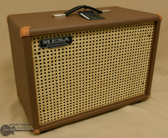 Mesa Boogie 1x12 Widebody Cabinet - Cocoa Bronco, Wicker Grille | Northeast Music Center Inc.