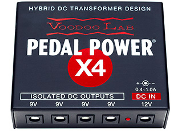 Voodoo Lab Pedal Power X4 Expander Kit (POWERX4) | Northeast Music Center Inc.