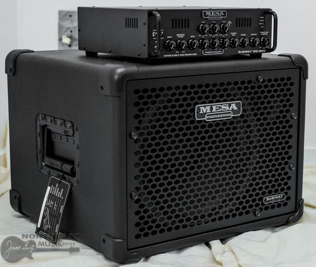 Mesa Boogie Subway WD800 Bass Amplifier w/ 1x12 Cabinet (6.WD800.112)   Northeast Music Center Inc.