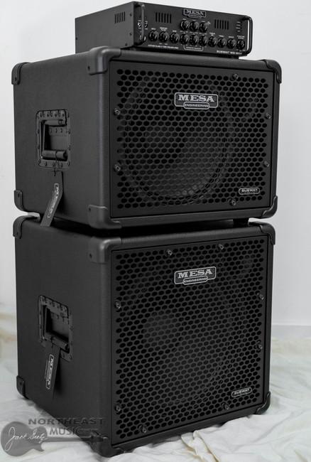 Mesa Boogie Subway WD800 Bass Amplifier w/ 1x12 & 1x15 Cabinet (6.WD800.112.115) | Northeast Music Center Inc.