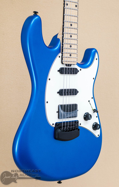 Ernie Ball Music Man BFR Cutlass HSS Trem - Blue Magic | Northeast Music Center Inc.