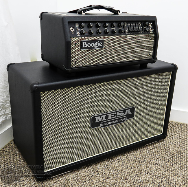 Mesa Boogie Mark V:35 w/ 2x12 Recto Horizontal Cab inet - Black Taurus w/ Cream Black Grille   Northeast Music Center Inc.