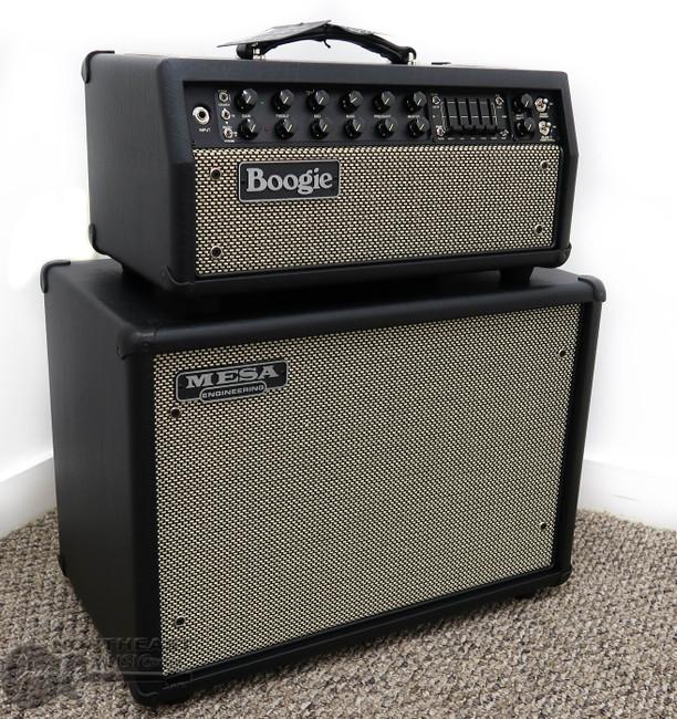Mesa Boogie Mark V: 35 w/ 1x12 Widebody Closed Back Cabinet - Black Taurus w/ Cream Black Grille | Northeast Music Center Inc.