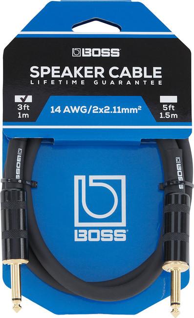 BOSS 3-Foot Speaker Cable (BSC-3) | Northeast Music Center Inc.