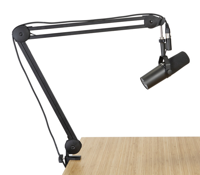 Shure SM7B w/ Gator Desk Mounted Boom Stand (Podcasting Kit) | Northeast Music Center Inc.