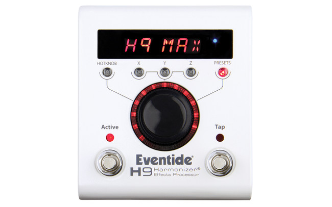 Eventide H9 Max Harmonizer Effects Processor (H9-Max)   Northeast Music Center Inc.