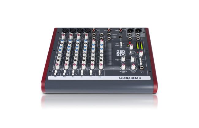 Allen & Heath ZED-10 Mixing Console/ USB Interface (ZED-10)   Northeast Music Center Inc.