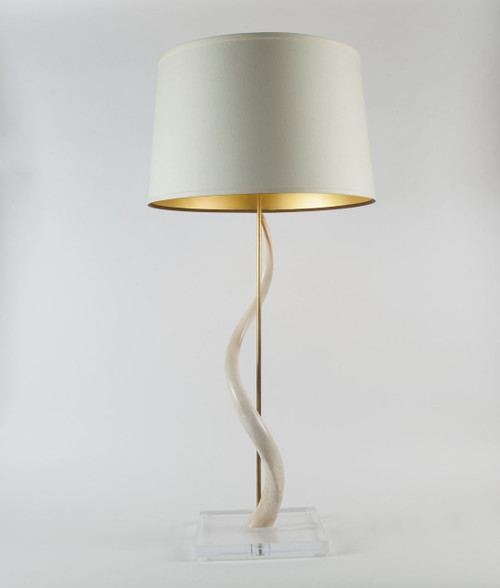 Kudu Core Table Lamp on Acrylic