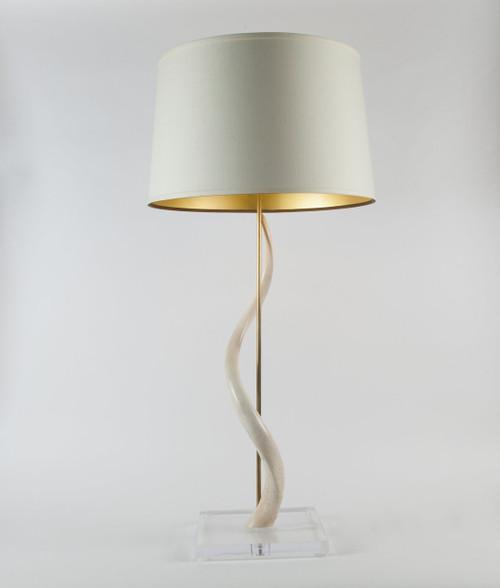 Kudu Core Table Lamp on Acrylic