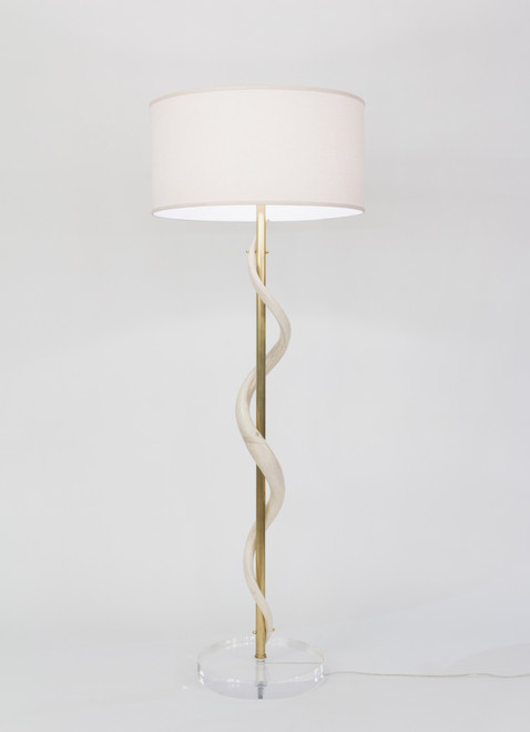 Kudu Core Floor Lamp on Acrylic