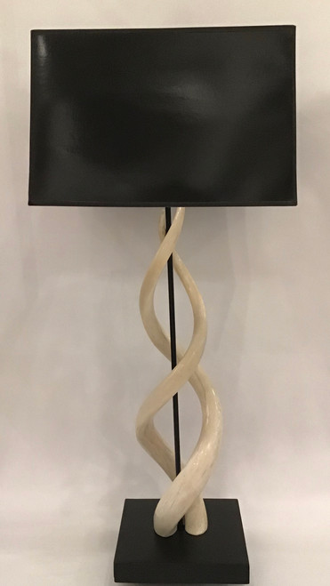 Double Kudu Core Table Lamp