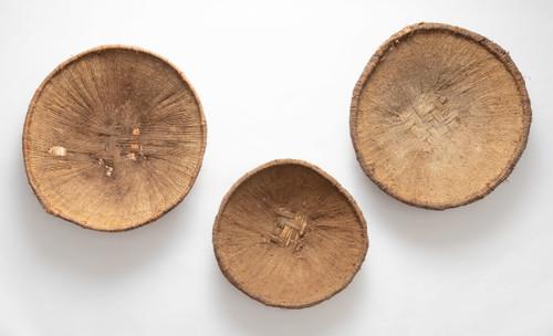 Vintage Grain Sifter Basket Collection