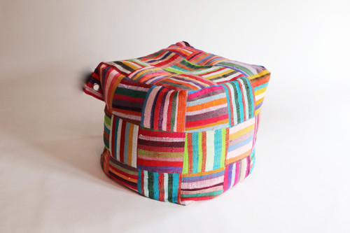 Upcycled Bean Bag - Medium