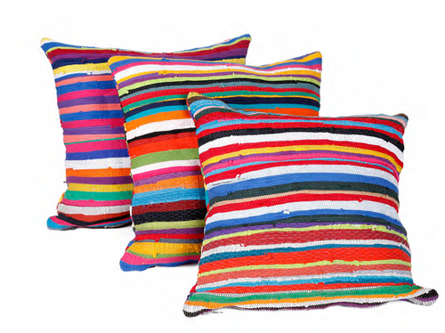 Upcycled Pillow-Square