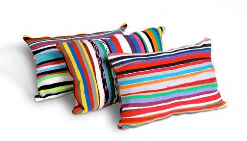 Upcycled Pillow- Lumbar
