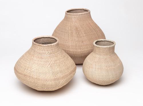 Zimbabwe Handwoven basket set of 3