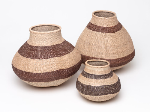 Zimbabwe Handwoven basket set of 3