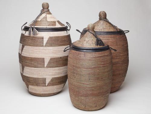Douwe Basket Multi-neutral - large