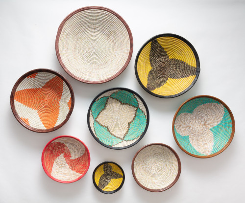 Fele Baskets - Colorful Collection set of 8