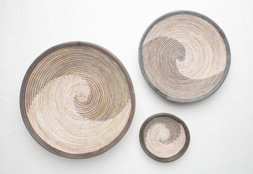 Grey swirl fele collection of 3