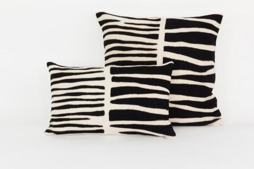 Bogolan Pillow - Zebra Lumbar