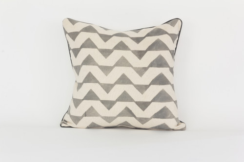 Pagne Tisse' Pyramid Pattern Pillow
